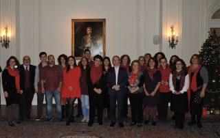 Κάλαντα στην Αγγλική πρεσβεία