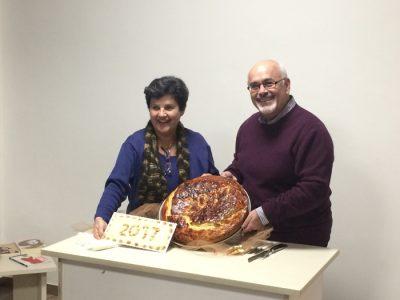 Κοπή πίτας Ιανουάριος 2017